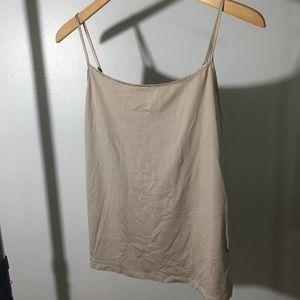 Large Nude Ellen Tracy Camisole